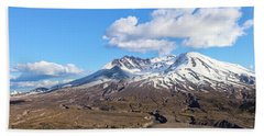 Mt Saint Helens Beach Towel