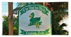 Mucky Duck I Beach Towel