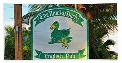 Mucky Duck I Beach Sheet