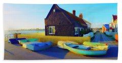 Muddage  Rowers Beach Towel by Jan W Faul