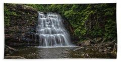 Muddy Creek Falls Beach Towel
