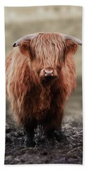 Muddy Moo The Heilan Coo Beach Sheet