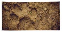 Muddy Pup Beach Sheet by Stefanie Silva