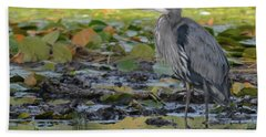 Muddy Water Blues Beach Towel