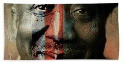 Muddy Waters - Mannish Boy  Beach Towel