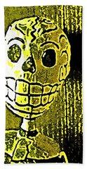 Muertos 1 Beach Sheet by Pamela Cooper