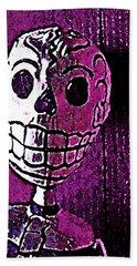 Muertos 3 Beach Sheet by Pamela Cooper