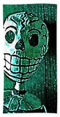 Muertos 4 Beach Sheet by Pamela Cooper