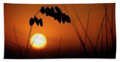 Beach Towel featuring the photograph Mug - Sunset by Inge Riis McDonald