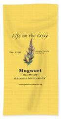 Mugwort Beach Towel