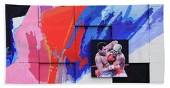 Muhammad Ali's Last Fight Beach Towel