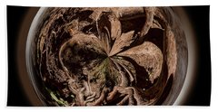Beach Towel featuring the photograph Muir Woods Orb by Judy Wolinsky