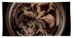 Muir Woods Orb Beach Sheet by Judy Wolinsky