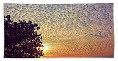 Multicoloured Sky Beach Sheet