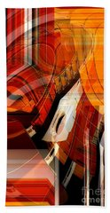 Multidimensional  Beach Sheet by Thibault Toussaint
