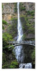Multnomah Falls, Columbia River Gorge Beach Towel