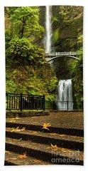 Multnomah Falls,oregon Beach Towel