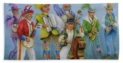 Mummers Jam Session Beach Towel