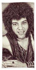Mungo Jerry Portrait - Drawing Beach Towel