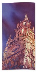 Munich Rathaus Beach Towel