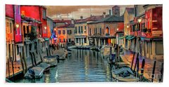 Murano Twilight Beach Towel