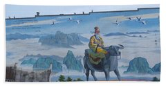 Mural In Chinatown Vancouver Beach Towel