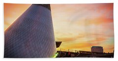 Museum Of Glass Tower#2 Beach Towel