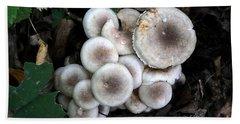 Mushroom Cluster # 2 Beach Sheet