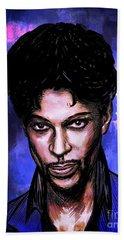 Music Legend  Prince Beach Towel