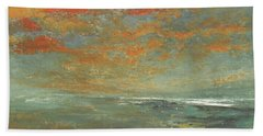 Music Of The Night Beach Towel by Jane See