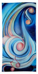 Music Of The Spheres Beach Towel