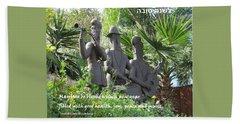 Musicians Rosh Hashanah Beach Towel