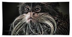Mustache Monkey IIi Altered Beach Towel
