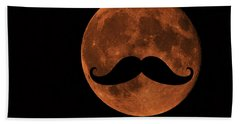 Mustache Moon Beach Sheet