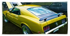 Mustang Boss 302 Beach Sheet