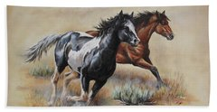 Mustang Glory Beach Sheet