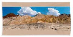 Mustard Canyon Panorama Beach Sheet