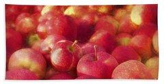 My Apple Harvest Beach Towel