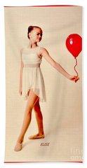 My Ballerina Doll Beach Sheet