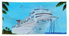 My Carnival Cruise Beach Sheet