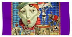 Beach Towel featuring the photograph My Circus by Jeff Burgess