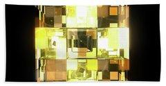 My Cubed Mind - Frame 001 Beach Towel