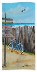 My Favorite Beaches Beach Towel by Lloyd Dobson