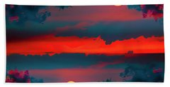 My First Sunset- Beach Towel