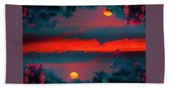 My First Sunset- Beach Sheet