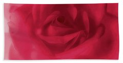 My Love Rose Beach Towel by The Art Of Marilyn Ridoutt-Greene