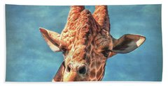 Beach Towel featuring the photograph My Name Is Bingwa by Hanny Heim