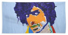 My Name Is Prince  Beach Towel by Stormm Bradshaw