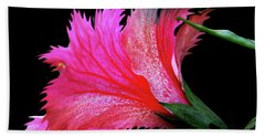 Palm Springs Flower My Name Is Wow Beach Sheet