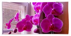 My Orchids Beach Towel